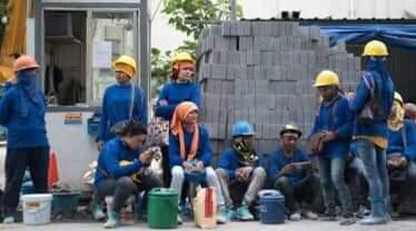 ไทยมีแรงงานต่างด้าวหญิงในภาคก่อสร้างมากที่สุดในโลก