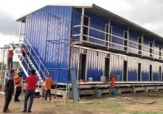 บ้านพักคนงานก่อสร้าง ที่ได้มาตรฐานมาพร้อมกับบริษัทก่อสร้างที่มีคุณภาพและมีการบริหารจัดการที่ดี
